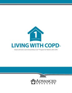 Living with COPD - Advanced Home Care's program for Patients with COPD